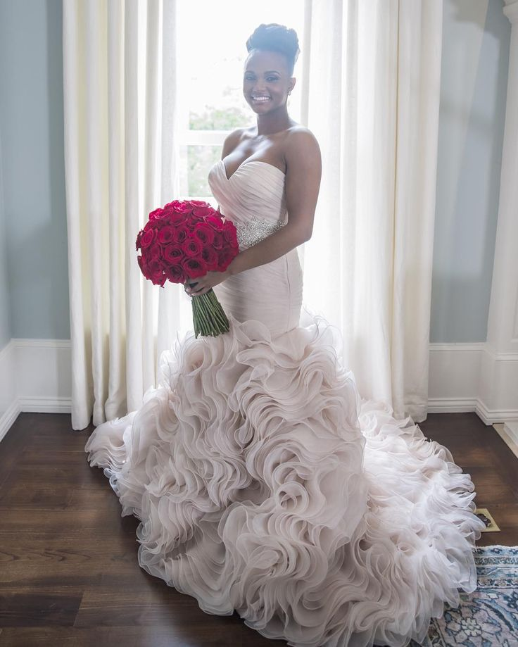 "Gorgeous bridal portrait of ""Married at First Sight"" star Vanessa my favorite bride!!!"