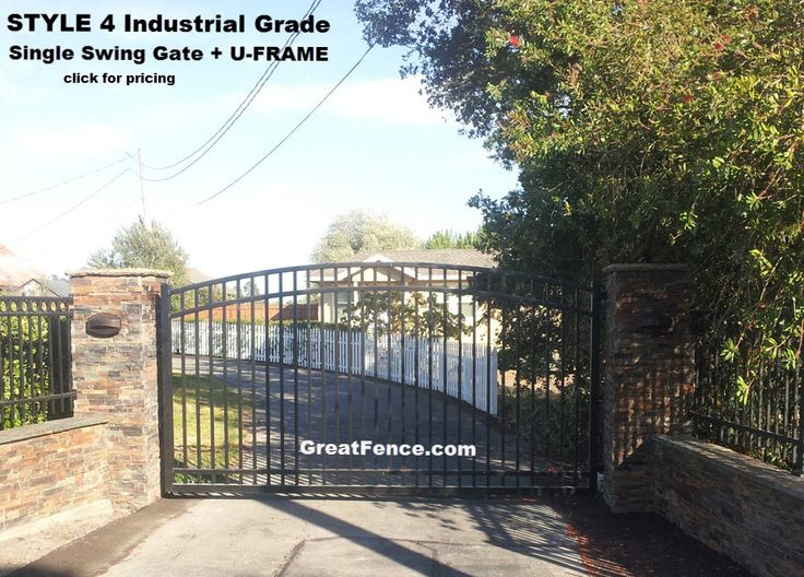 Greatfence Com Inc Powered By Network Solutions Driveway Entry Gates Gate