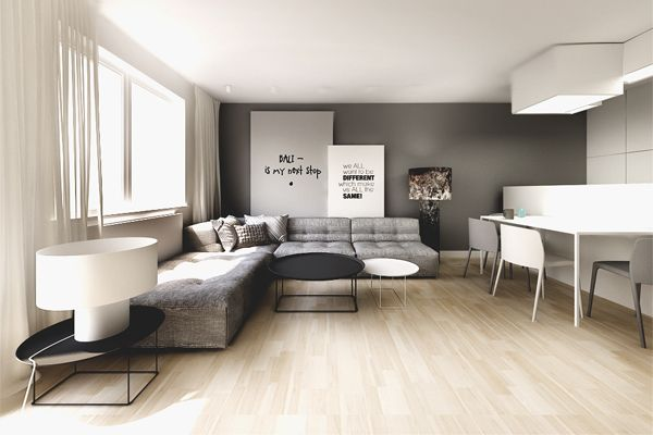 Warsaw // Wola Prestige // Flat // 67M2 | Kuoo Architects