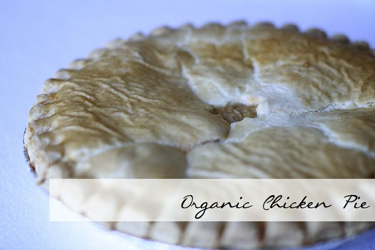 Organic Chicken Pies