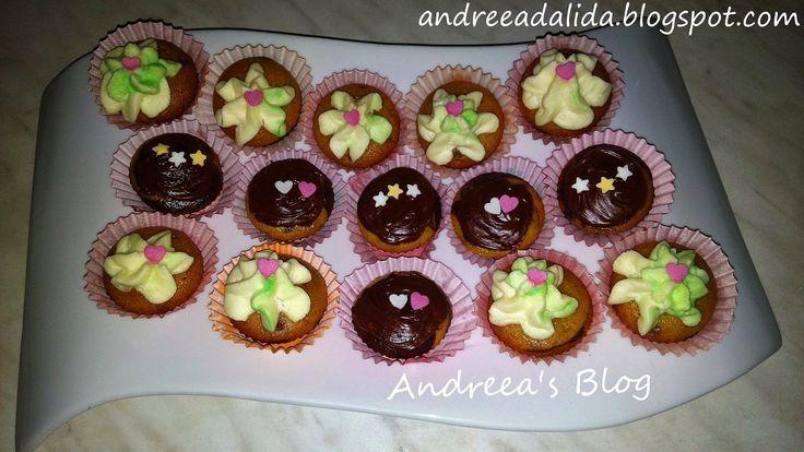 Mini Cupcakes Tricolore