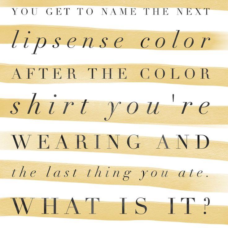 game name the lipsense color