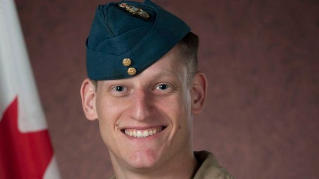 Capt. Thomas McQueen of 4 Wing Cold Lake was killed Monday in a training crash while flying his CF-18 Hornet.