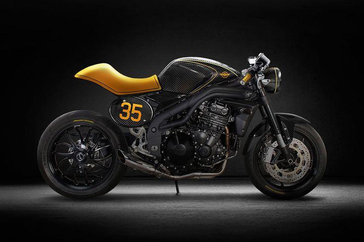 Custom Triumph Speed Triple by Tamás Jakus