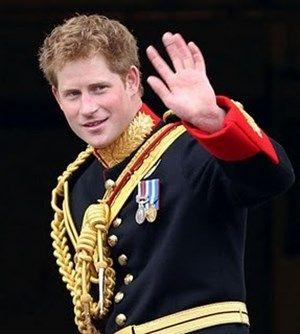 ウィリアム王子の弟のヘンリー王子。イギリス王子の画像