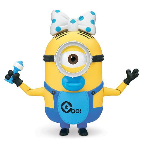 Despicable Me 2 Deluxe 4.75 inch Action Figure - Build-A-Minion Baby Carl