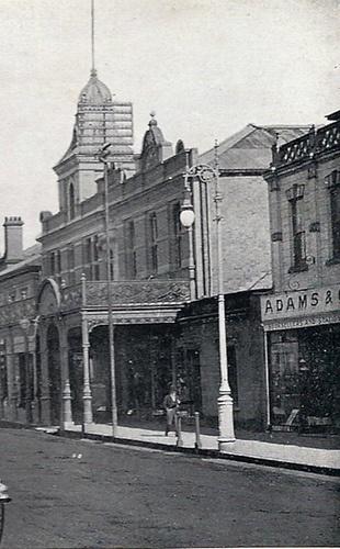 Church Street - detail 2. See photo 13a. tTaken circa 1905. Pietermaritzburg, Natal