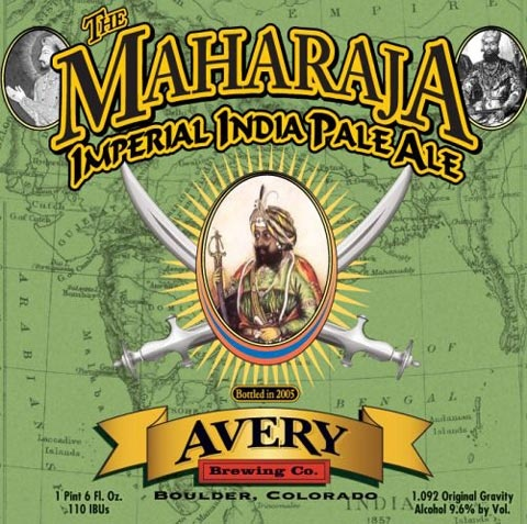 Avery The Maharaja Imperial India Pale Ale...ratebeer.com gives it 100 points.