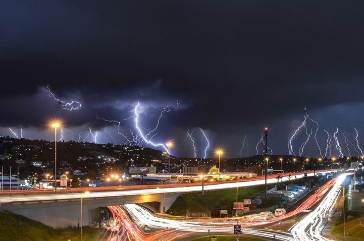 Lightning Over Johannesburg, South Africa