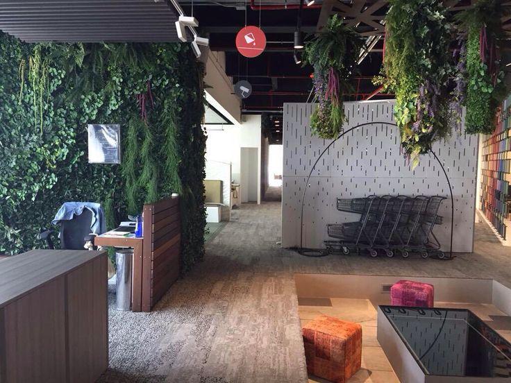 Biophilic office design using Human Nature