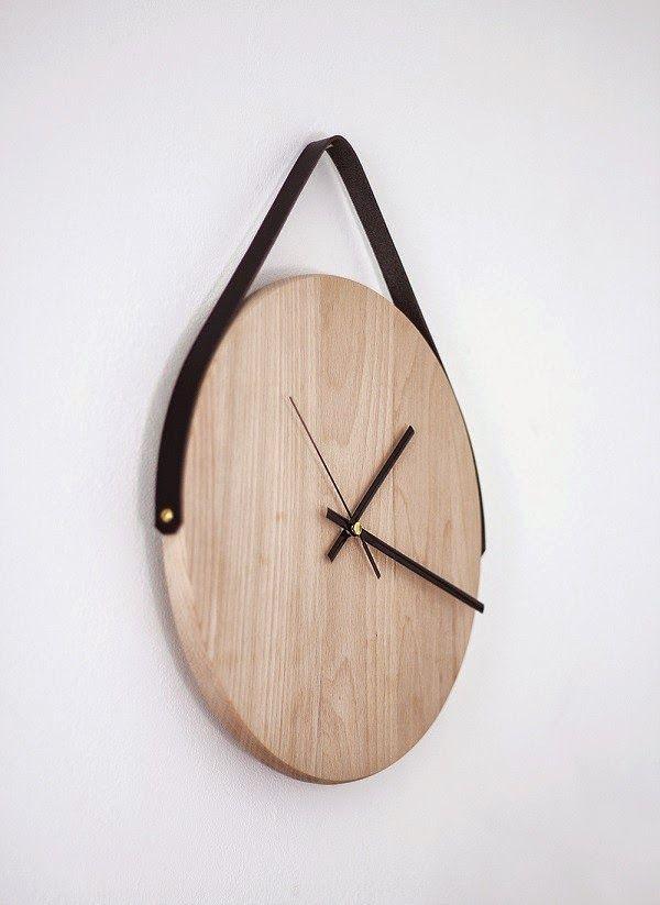 Solountip.com: Cómo hacer un reloj de pared con madera