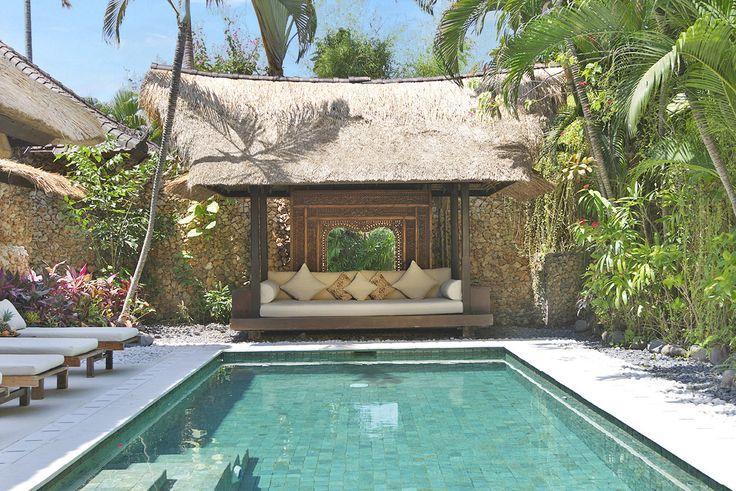 Villa 3 pool bale at Villa Kubu, Seminyak, Bali