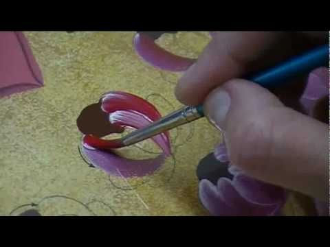 A artista plástica Cristina Bottallo, em sua primeira vídeo-aula, ensina um método muito simples de práticar a pintura bauern. Visite também: http://blog.cri...