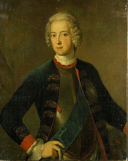 Antoine Pesne - Crown Prince Frederick II of Prussia, aka Frederick the Great