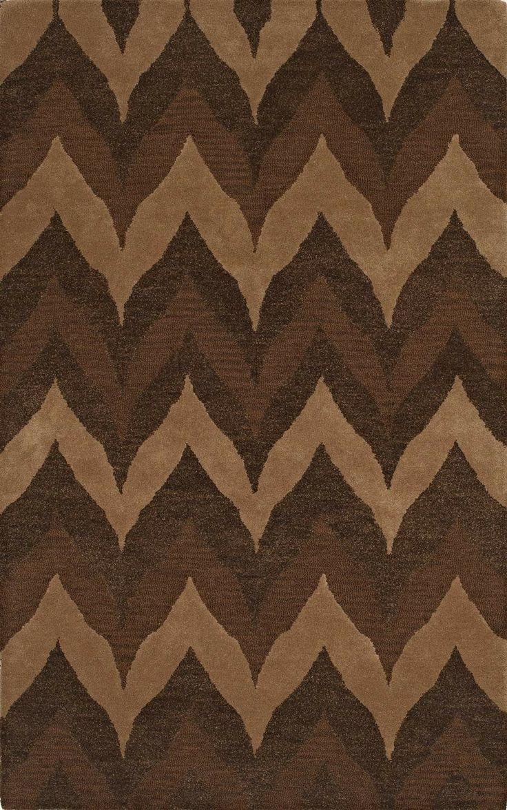 best trendy chevron images on pinterest  chevron modern area  - dalyn rugs tones tn modern fudge rug superarearugs chevron modernzigzag