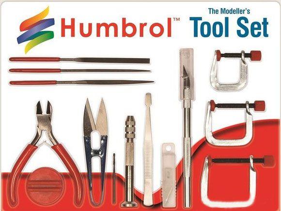 Humbrol Modellbau-Werkzeug-Set