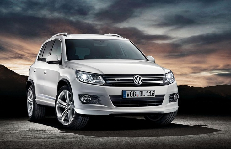 Volkswagen Tiguan The moment your Dad buys you one! Lord have mercy :D
