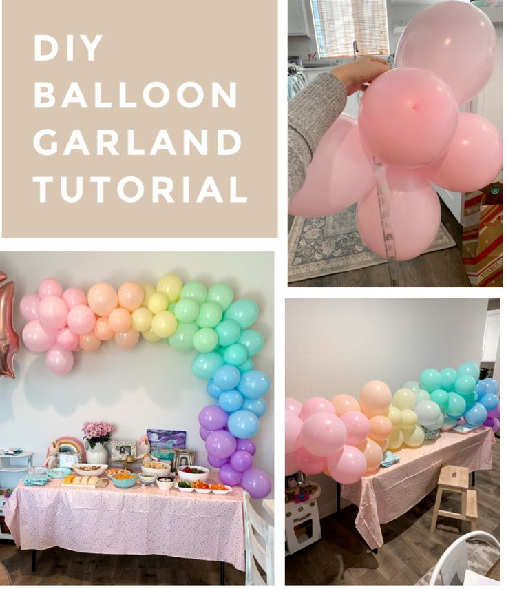 Balloon garland tutorial katie did what balloon