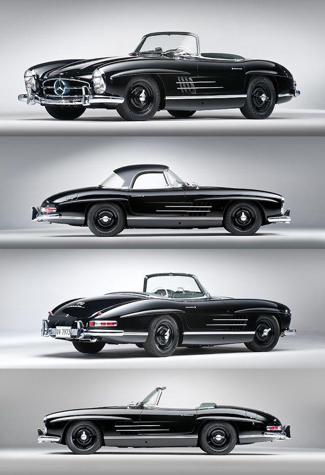 1960 Mercedes Benz 300SL #mercedesvintagecars