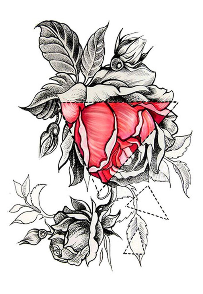 Product Information Product Type: Tattoo Sheet Tattoo Sheet Size: 17cm(L)*11cm(W) Tattoo Application & Removal Instructions Floral Temporary Tattoo, Flower
