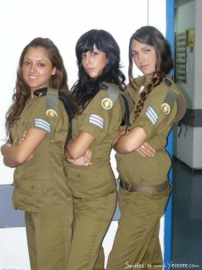 Female Israeli soldiers | Beautiful Israeli Female Soldiers - IDF, Airforce and Navy