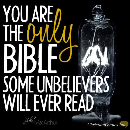 Daily Devotional - 3 Ways People Read The  Bible In You:  John MacArthur #Christianquote