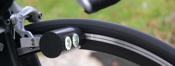 Magnic Light is the first compact contactless bicycle dynamo. No wires, no batteries, but enough light to rival high grade battery operated lights. A self contained light that doesn't touch your rim but generates enough energy to power two LEDs. Pretty impressive. On kickstarter.