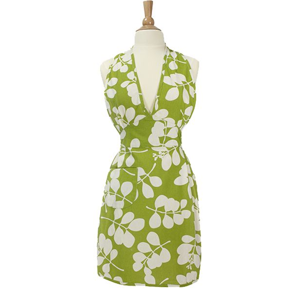 Dandi Apron - Leaf Green |Krinkle - Homewares & Gifts