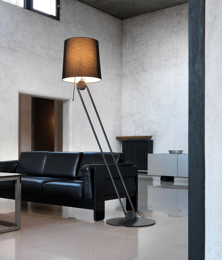 Mecano collection: Free standing lamp for upward and downward diffused lighting. Adjustable metal structure with single or duble joint and base in matt black powder coating or bronze finishing. Black or grey fabric diffuser. Opal PMMA lower screen. Retrofit LED bulbs on request. #andcosta #andcostalighting #andcostalights #lights #lamps #design #interiordesign #madeinitaly #standinglamps #freestandinglamps