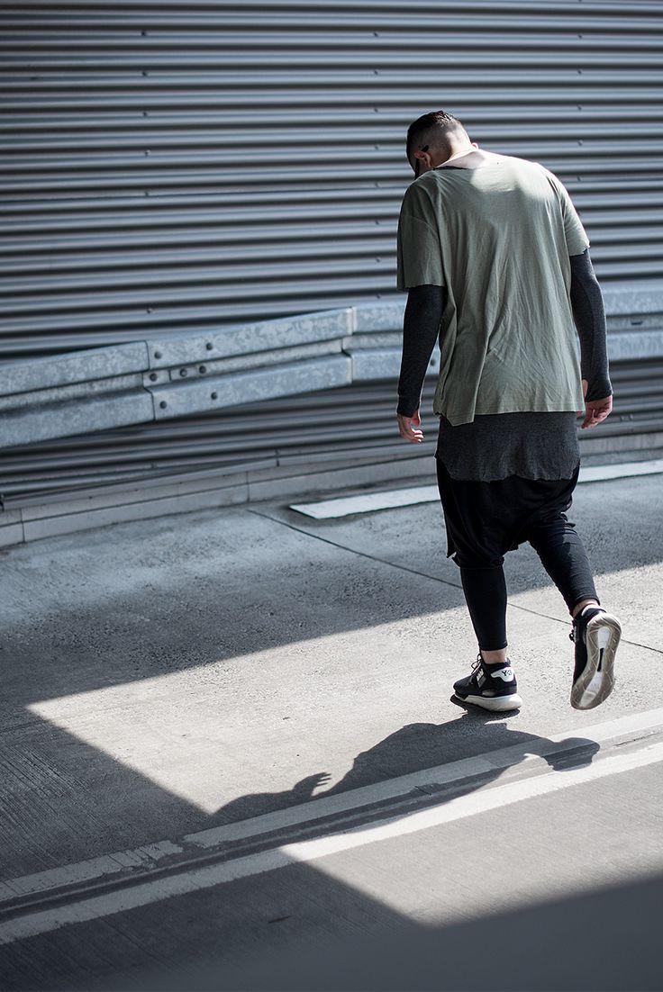 Men fashion layers