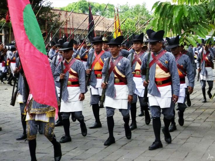 Guard of Jogjakarta Palace - Prajurit Jogokaryo