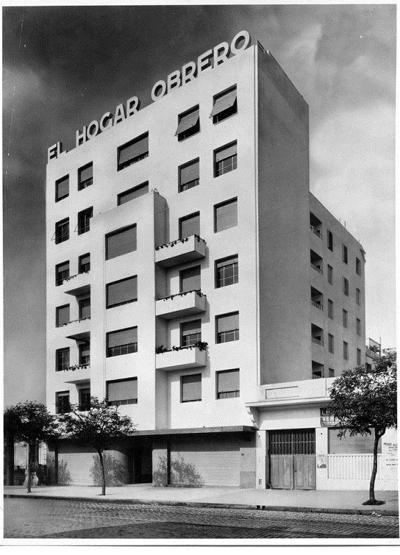 Edificios Del Hogar Obrero Declarados De Interes Historico