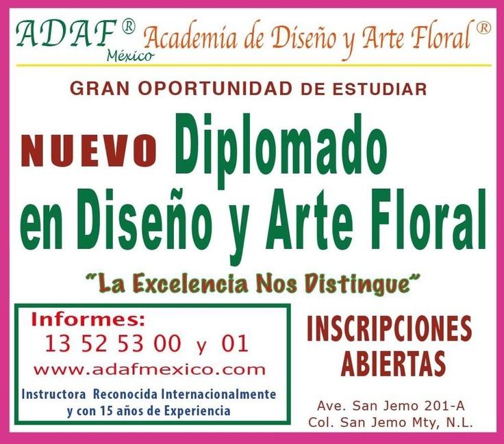 Clases de Diseño Floral Estudia con nosotros y conviértete