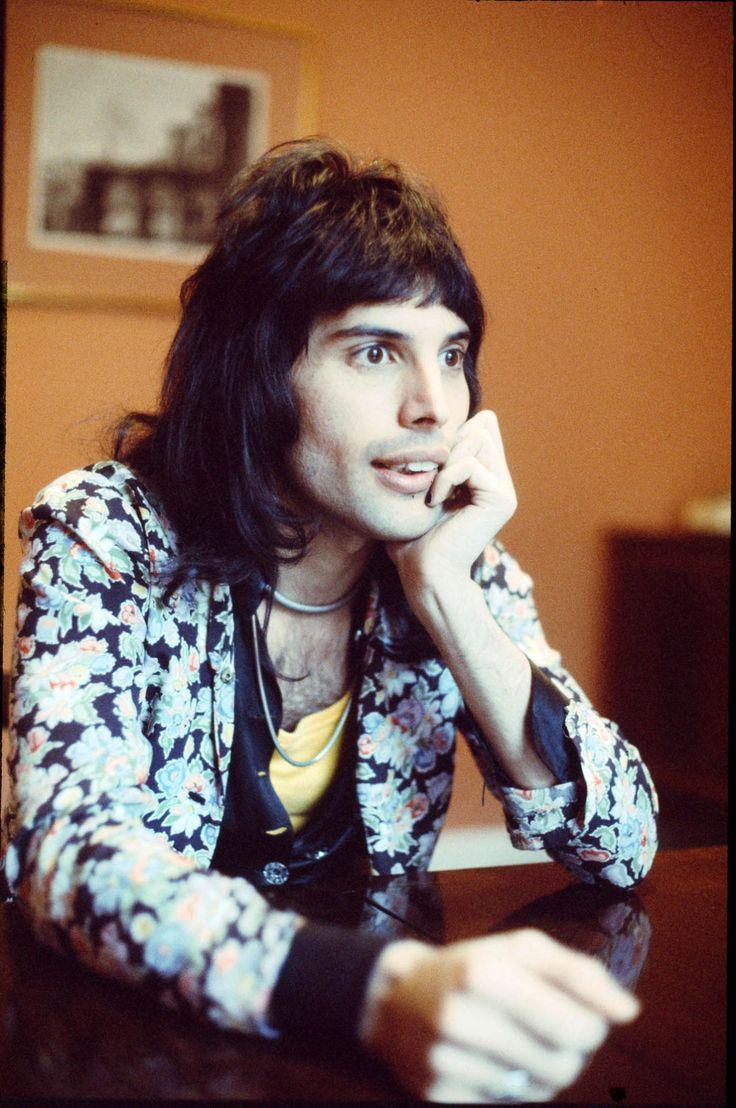"soundsof71: ""Freddie Mercury, London 1974, by Michael Putland """