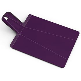 Joseph Joseph Chop2Pot Plus Small Folding Chopping Board Aubergine