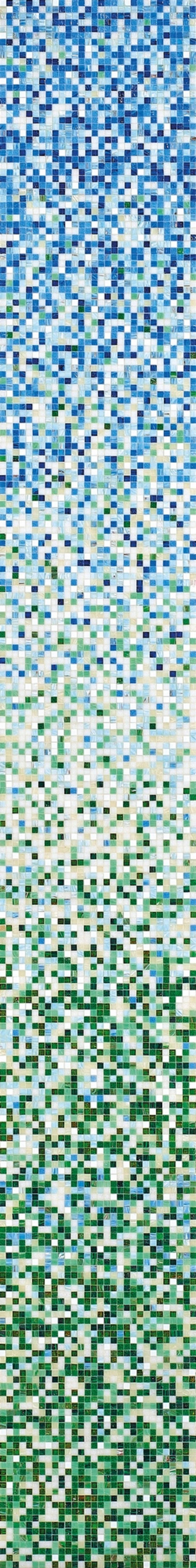 #Bisazza #Sfumature #Miscele 1x1 cm Edera | #Vetro | su #casaebagno.it a 247 Euro/collo | #mosaico #bagno #cucina
