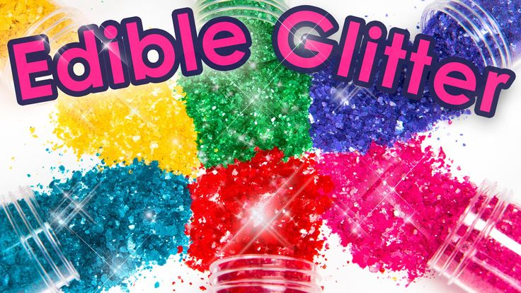 How to Make Edible Glitter 3 Different Ways!  (Cake Decorating DIY)