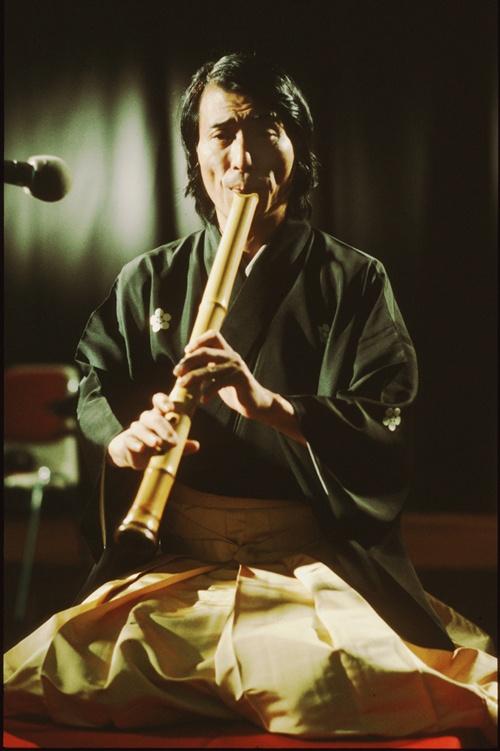 National Living Treasure of Japan, Hozan YAMAMOTO (1937~), Shakuhachi player 山本邦山(人間国宝)