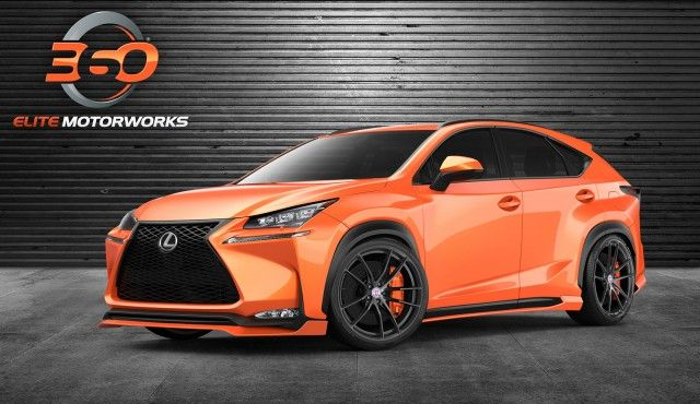 ❤ Best of SUV @ MACHINE... ❤ (2015 Lexus NX 200t by 360 Elite Motorworks at 2014 SEMA Show)