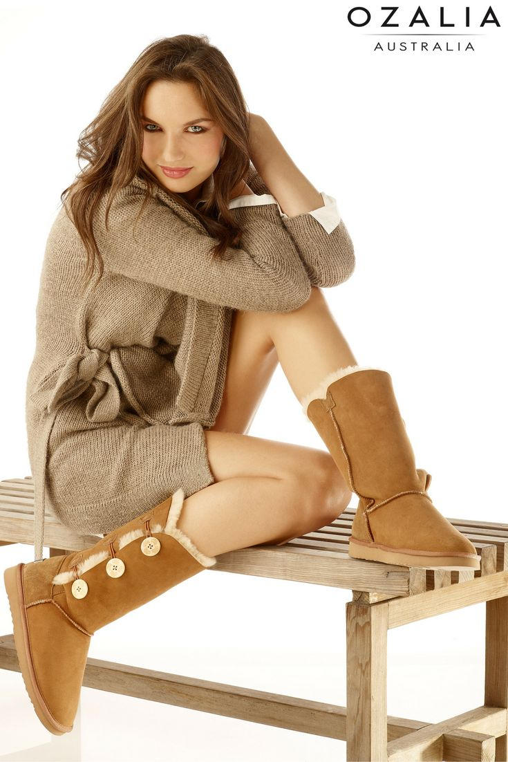 """I would definitely recommend Ozalia Boots."" - Vanity Fair #ugg #uggboots www.ozaliaboots.com"