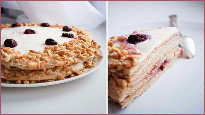 Обалденно вкусные торты — 6 чудесных рецептов