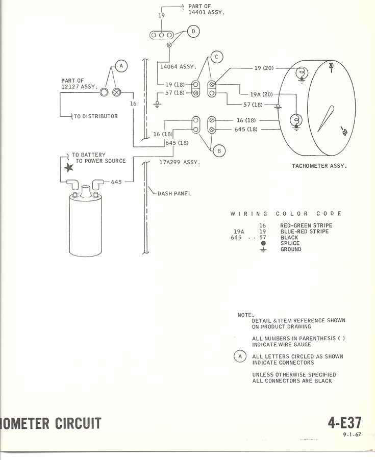 1967 mustang wiring to tachometer 1968 mustang wiring diagrams tach help tach