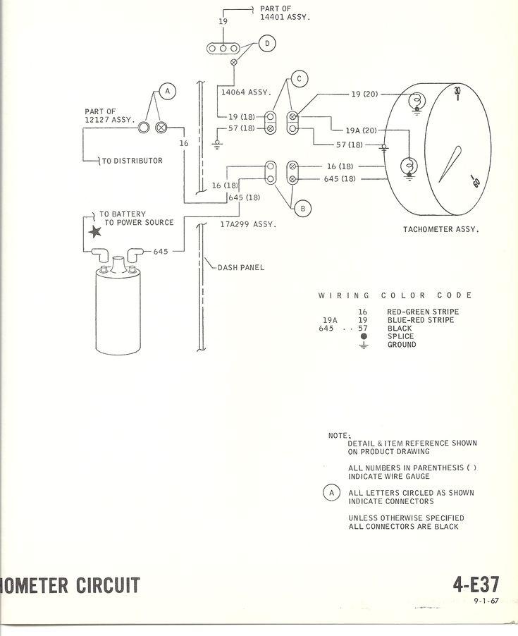 1967 gto hood tachometer wiring diagram 1965 pontiac gto