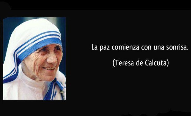10 frases emblemáticas de la Madre Teresa de Calcuta   De10