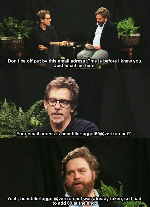 Between Two Ferns is the best celebrity interview show ever