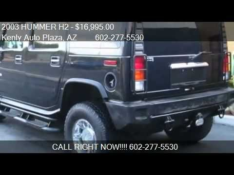 2003 HUMMER H2  for sale in Phoenix, AZ 85016 at the Kenly A
