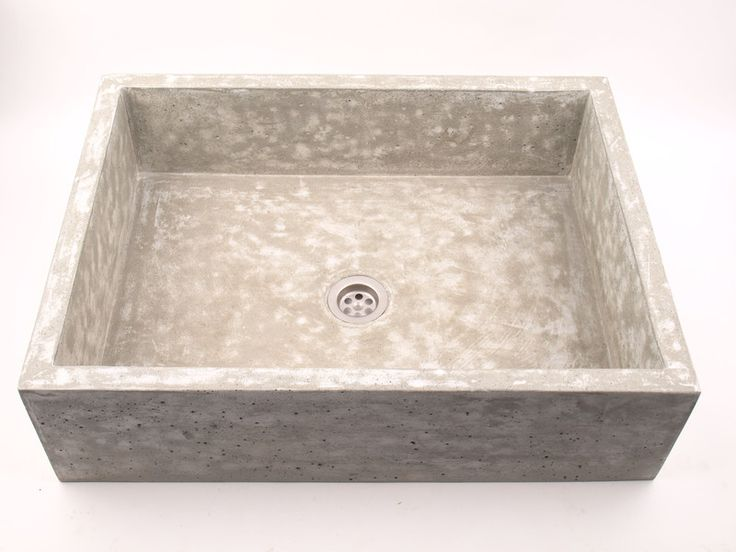 Waschbecken & Badewannen - Waschbecken aus Beton - UB2 - ein Designerstück von dekornia bei DaWanda