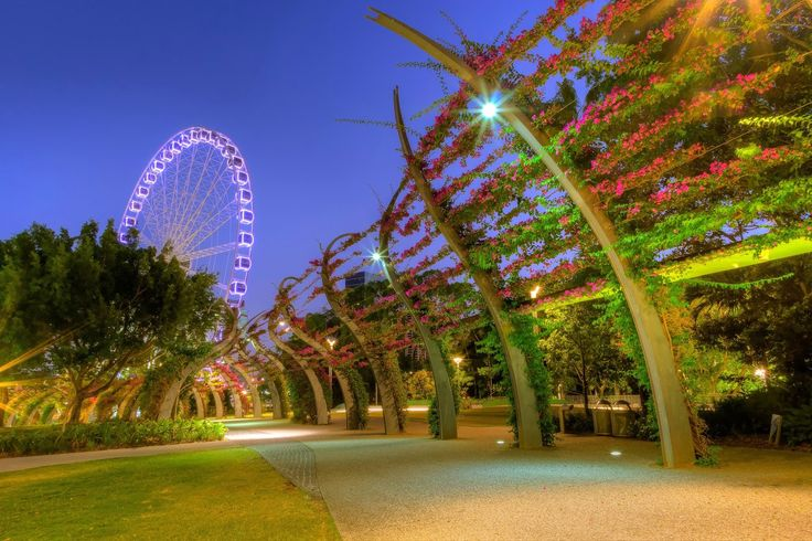 Ferris Wheel at South Bank-- Icon of 'Place'