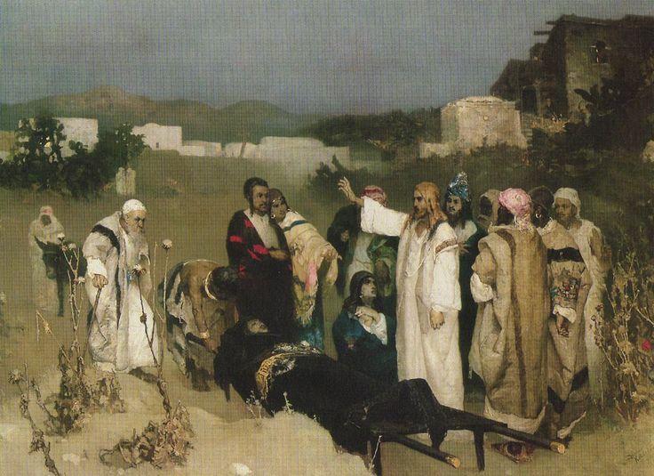 Jesus Raises a Widow's Son at Naim