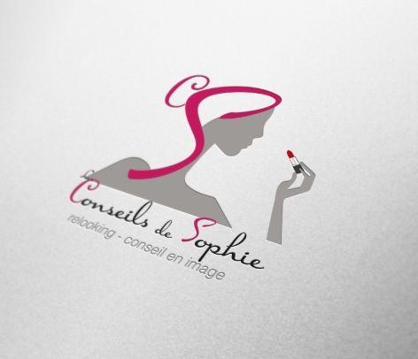 """Logo """"Les Conseils de Sophie"""" - Nîmes (30)"""